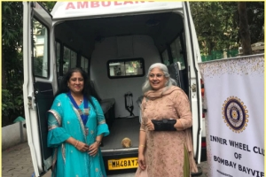August 2018 Projects by Inner Wheel Club of Bombay Bayview