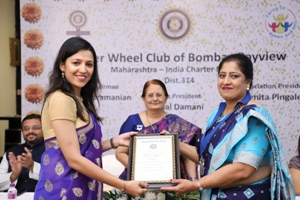 Installation 2018 President Tejal Damani - Inner Wheel Club of Bombay Bayview