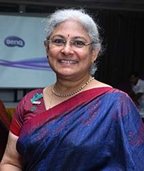 IWCBB District Chairman Dr. VIDYA SUBRAMANIAN